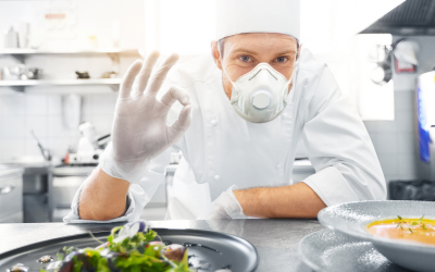 The Current Roles of Face Mask and Gloves in Your Restaurant Kitchens