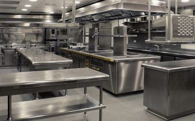 Commercial Kitchen Layout: Zone Style Layout